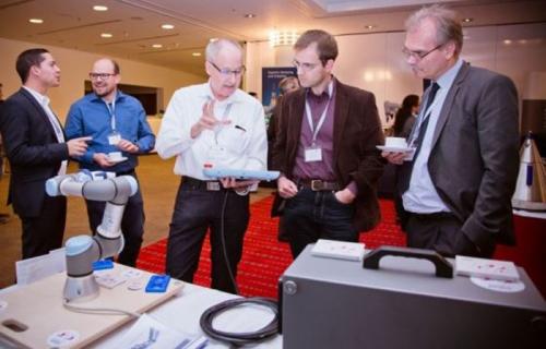 HLS Cobot World auf dem Mensch-Roboter-Forum 2017 in Stuttgart